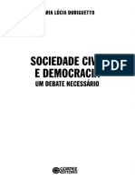 Sociedade Civil e Democracia - Um Debate Necessário - Maria Lúcia Duriguetto.pdf