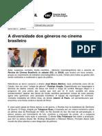 Tv Brasil - A Diversidade Dos Generos No Cinema Brasileiro - 2011-07-02