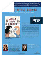 Weird Little Robots Author's Note