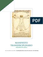 Ensayo Aproximación Critica Al Manifiesto Transdisciplinario