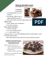 Chocolate en barra casero