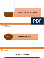 Chapter 2 - Understanding Strategies
