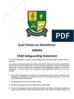 safeguarding statement 2018-2019