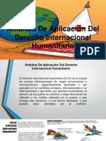 Ámbitos de Aplicación Del Derecho Internacional Humanitario
