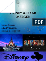 Disney Pixar Merger