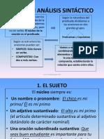 Revisinanlisissintctico Bueno y Claro