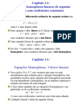 Equações Diferenciais Ordinárias Lineares de 2ª Ordem