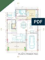 Plano de vivienda Planta 1