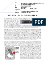 Oil Pump Spindle