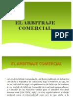 PROCESAL CIVIL III Tema 10 El Arbitraje Comercial