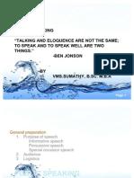 Art of Speaking