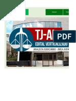 Edital Verticalizado - TJ AL - Analista Judiciário - Área Judiciária.xlsx