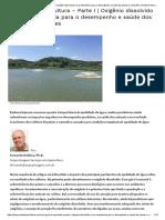 A Água Na Aquicultura - Parte I _ Oxigênio Dissolvido e Sua Importância Para o Desempenho e Saúde Dos Peixes e Camarões _ Revista Panorama Da Aqüicultura