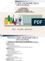 F.proy. Axonométrica