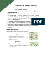 (1) CaracterÃ_sticas Gerais Sistema Endócrino