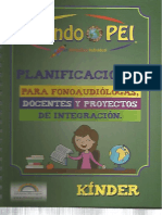 Libro Mundo PEI Planificaciones KINDER