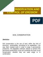 6.1 Control of Erosion (1)