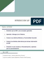 Introduccion SAP