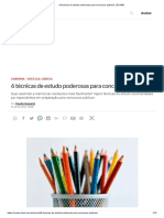6 Técnicas de Estudo Poderosas Para Concursos Públicos _ EXAME