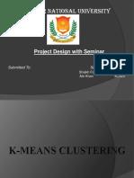 k Mean Clustering