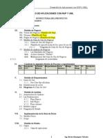 Estructura Del Proyecto_desarrollo de Aplicaciones Con Rup y Uml