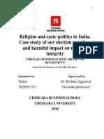 Religion and caste politics in India (Tamal).docx