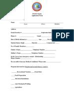 Application Form 2019 Revised