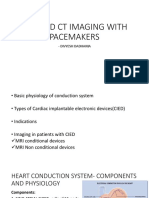 MRI and CT Imaging With Pacemakes