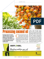 Coconut Oil Processing