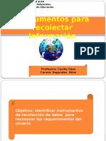 Instrumentos para recolectar inf-Entrevista.pptx