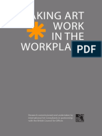 making art work in the workplace report