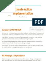 climateaction  implementation