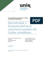 NARRATIVA POETICA DEL CARIBE COLOMBIANO