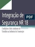 Integração de Segurança NR 18 - 2