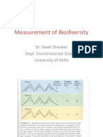 Measurement of Biodiversity