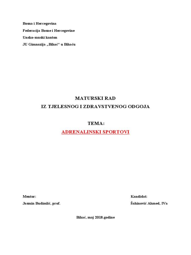 KLUB EKSTREMNIH SPORTOVA ¨LIMIT¨ hat Planinarski savez BiH/FBiHs.