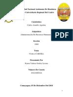 Informe Rrhh Gira Academica Cargill de Honduras