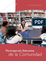 Participacion Educativa de La Comunidad