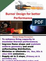 Burner Design 2019