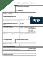 Formato Informe Ampliatorio Accidente