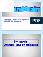 00.Qcm Structure de La Matiere