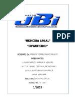 Medicina Legal Infanticidio