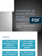 WEEK 15 Psychology of Human Nature