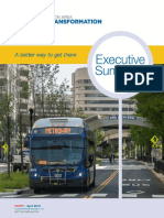Bus Transit Project Draft Summary