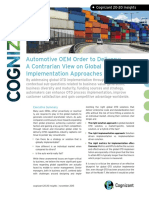 Automotive OEM Order to Delivery a Contrarian View on Global Implementation Approaches and Benefits Codex1635
