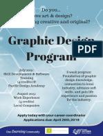 graphic design program 2019 poster