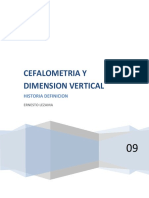 Cefalometria y Dimension Vertical