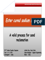 Microsoft PowerPoint - Ester Cured Sodium Silicate[1].Pptx