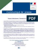 RN 22 Fermeture CP Ariège PO