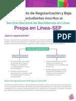 Procedimiento de Regularizacion y Baja